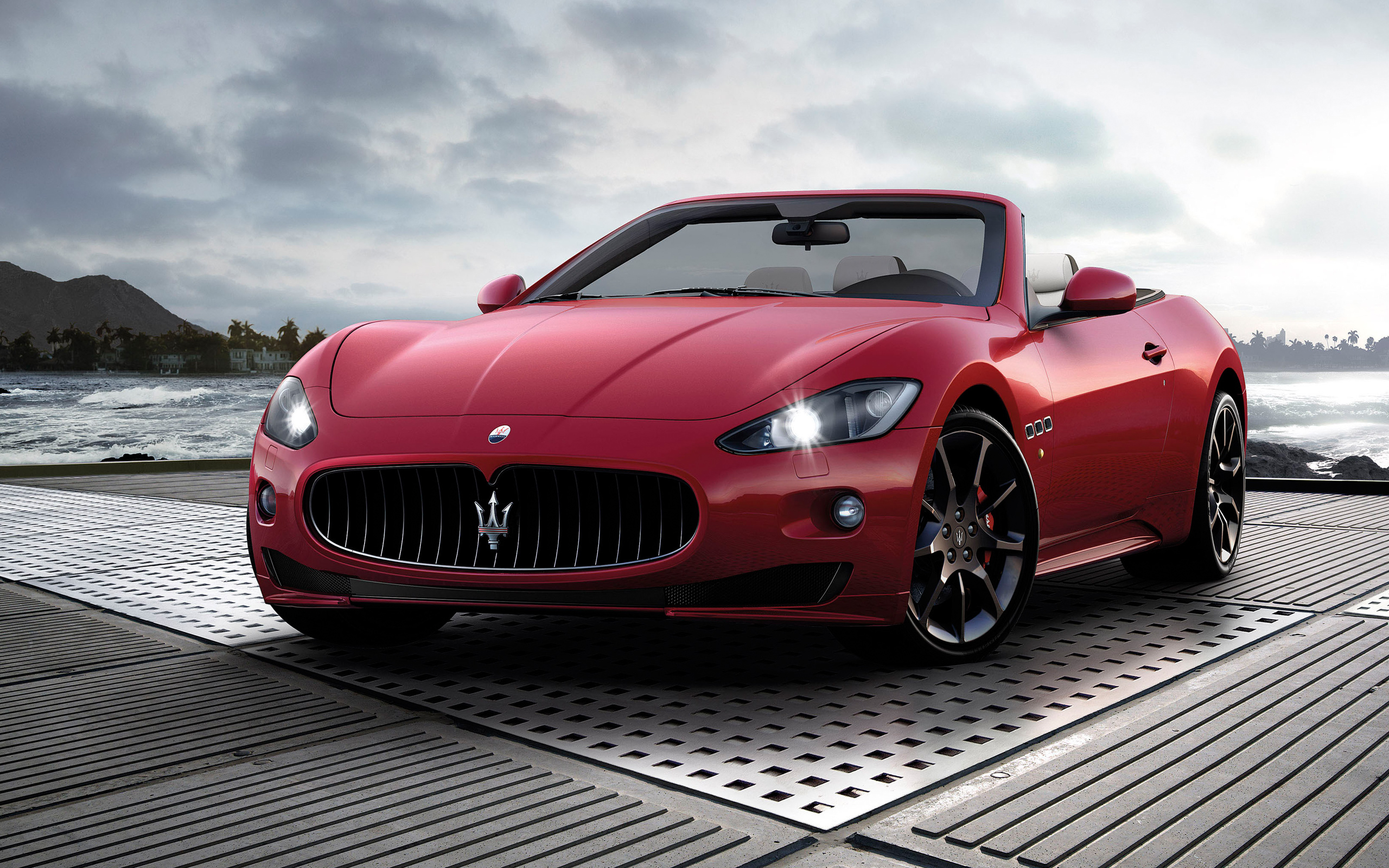2012 Maserati GranCabrio Sport Wallpapers HD Wallpapers 2560x1600