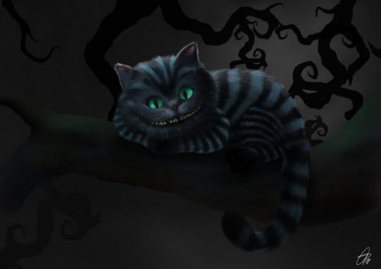 Evil Cheshire Cat Wallpaper Wallpapersafari