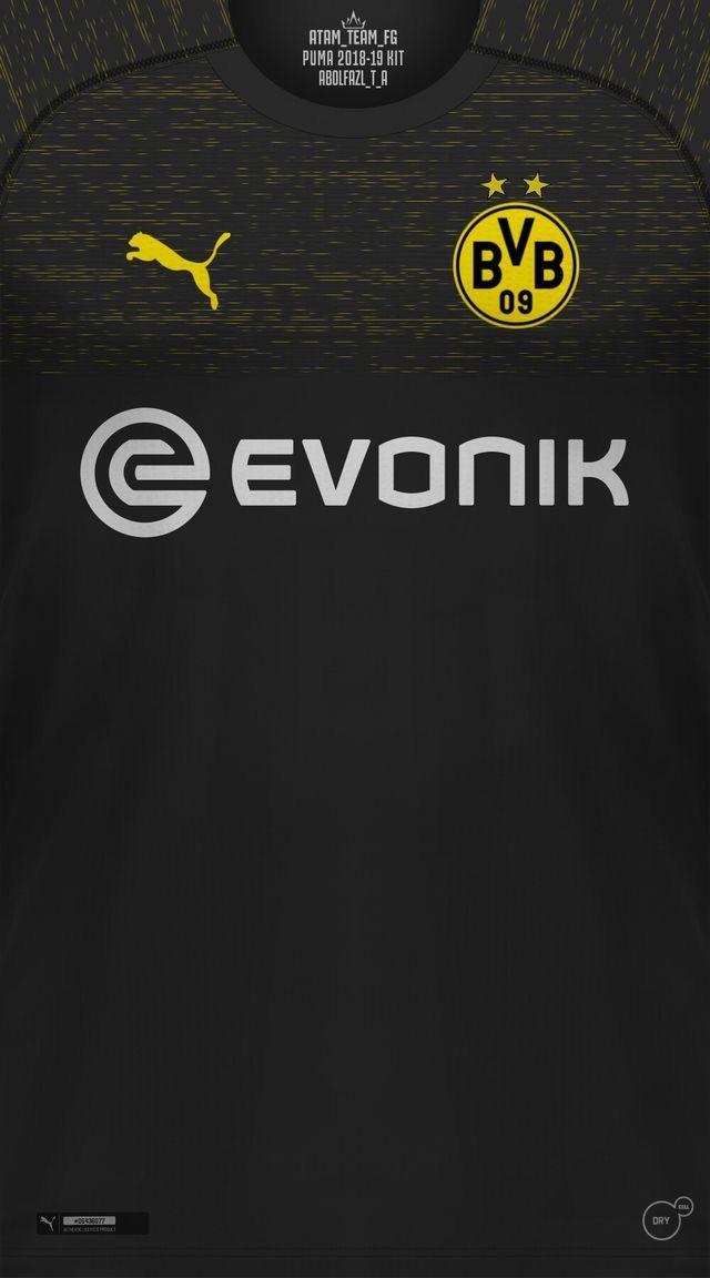 Borussia Dortmund wallpaper Jerseys Football wallpaper Iran 640x1152