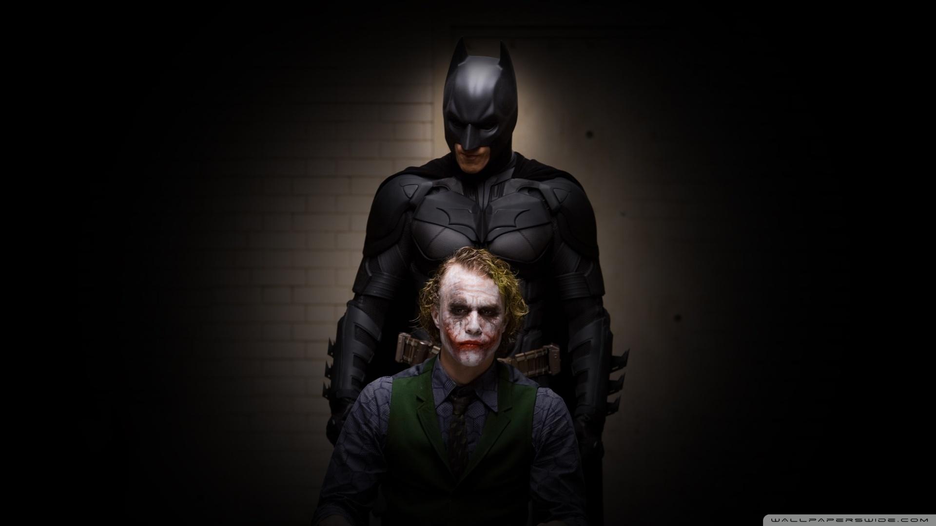 46 Joker And Batman Wallpaper On Wallpapersafari