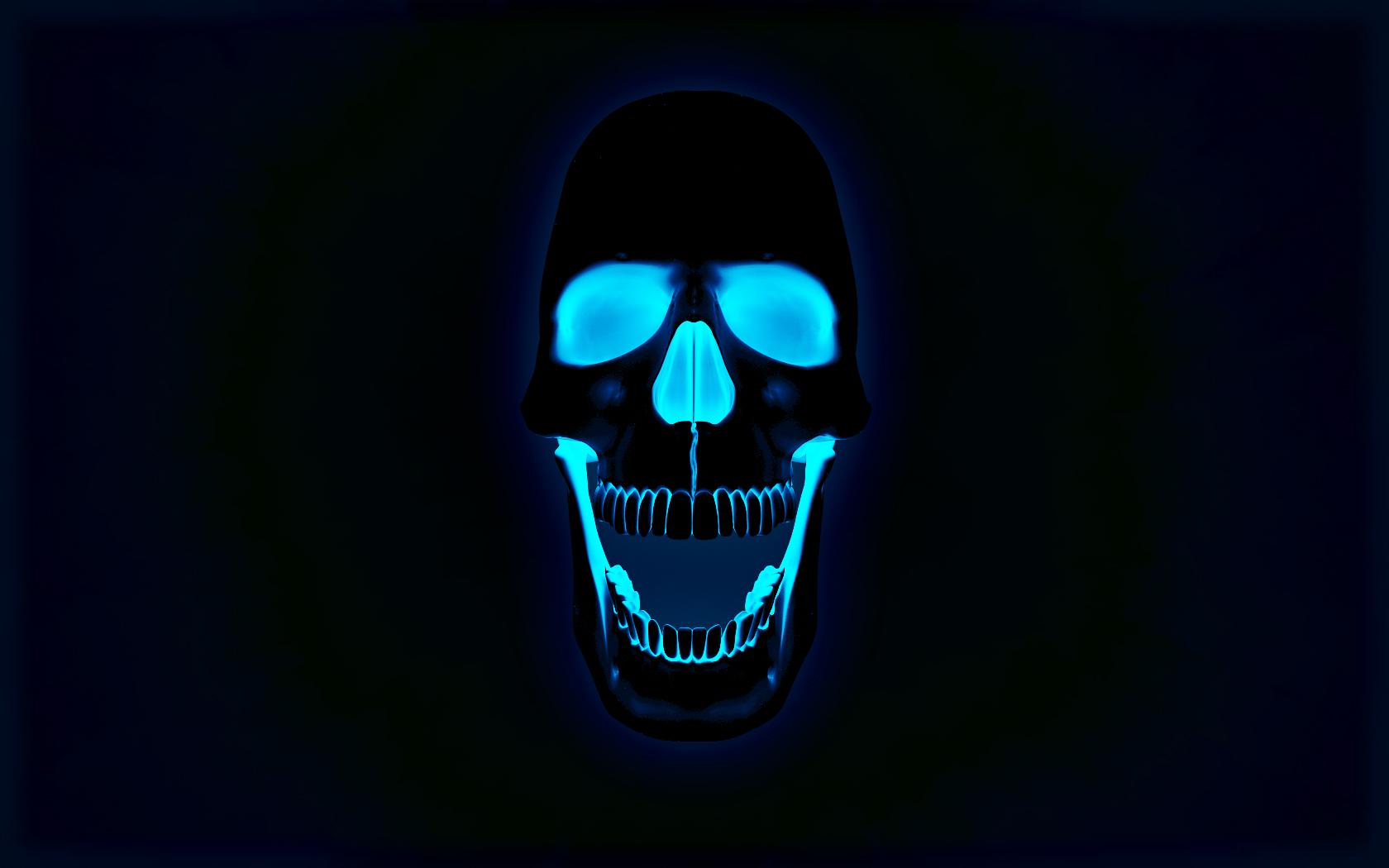 Dark Skull Wallpaper HD 5095 Wallpaper Cool Walldiskpapercom 1680x1050