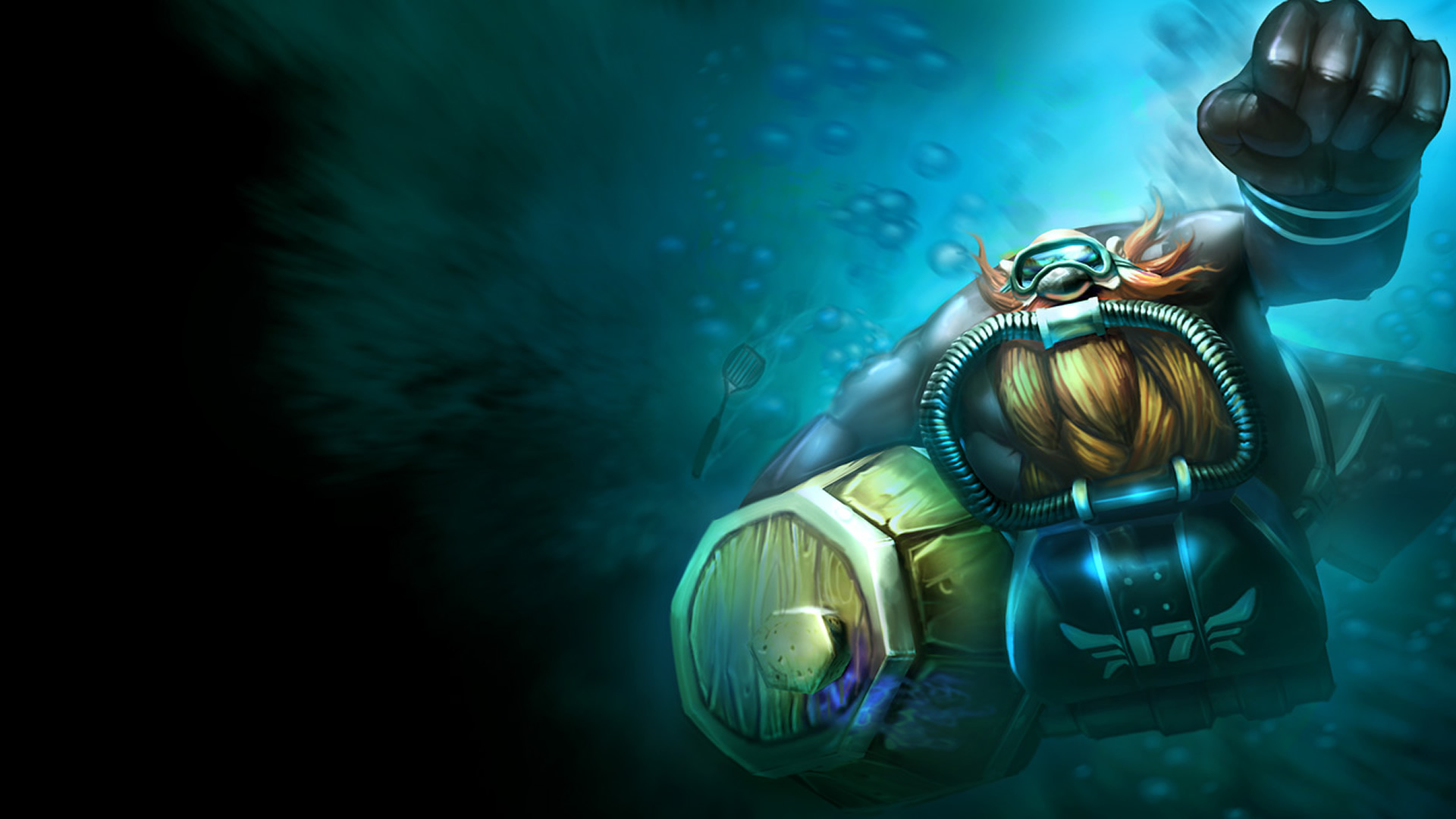 Scuba Gragas Wallpaper   LeagueSplash 1920x1080