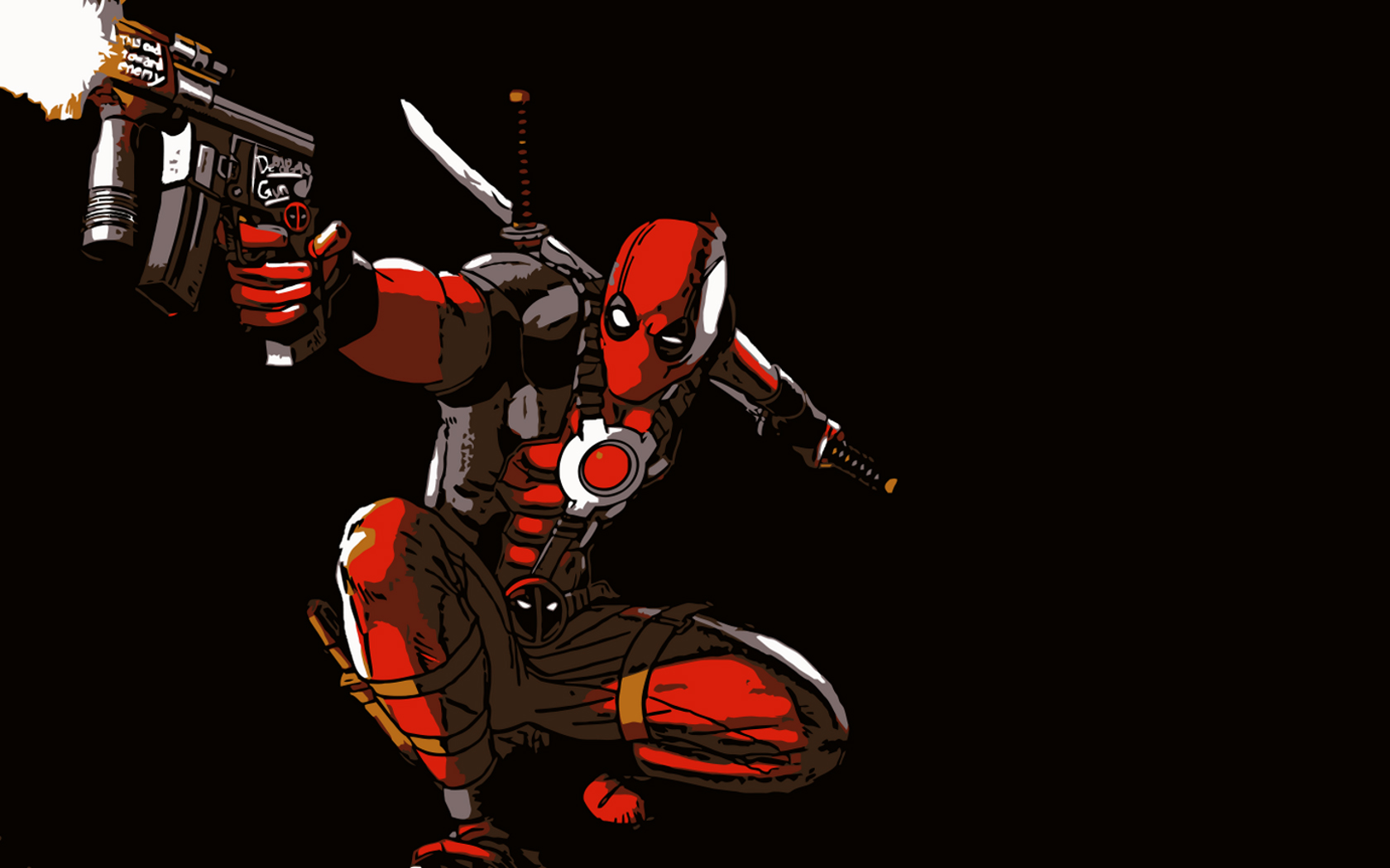 Gunning Deadpool Wallpapers Gunning Deadpool HD Wallpapers 1680x1050