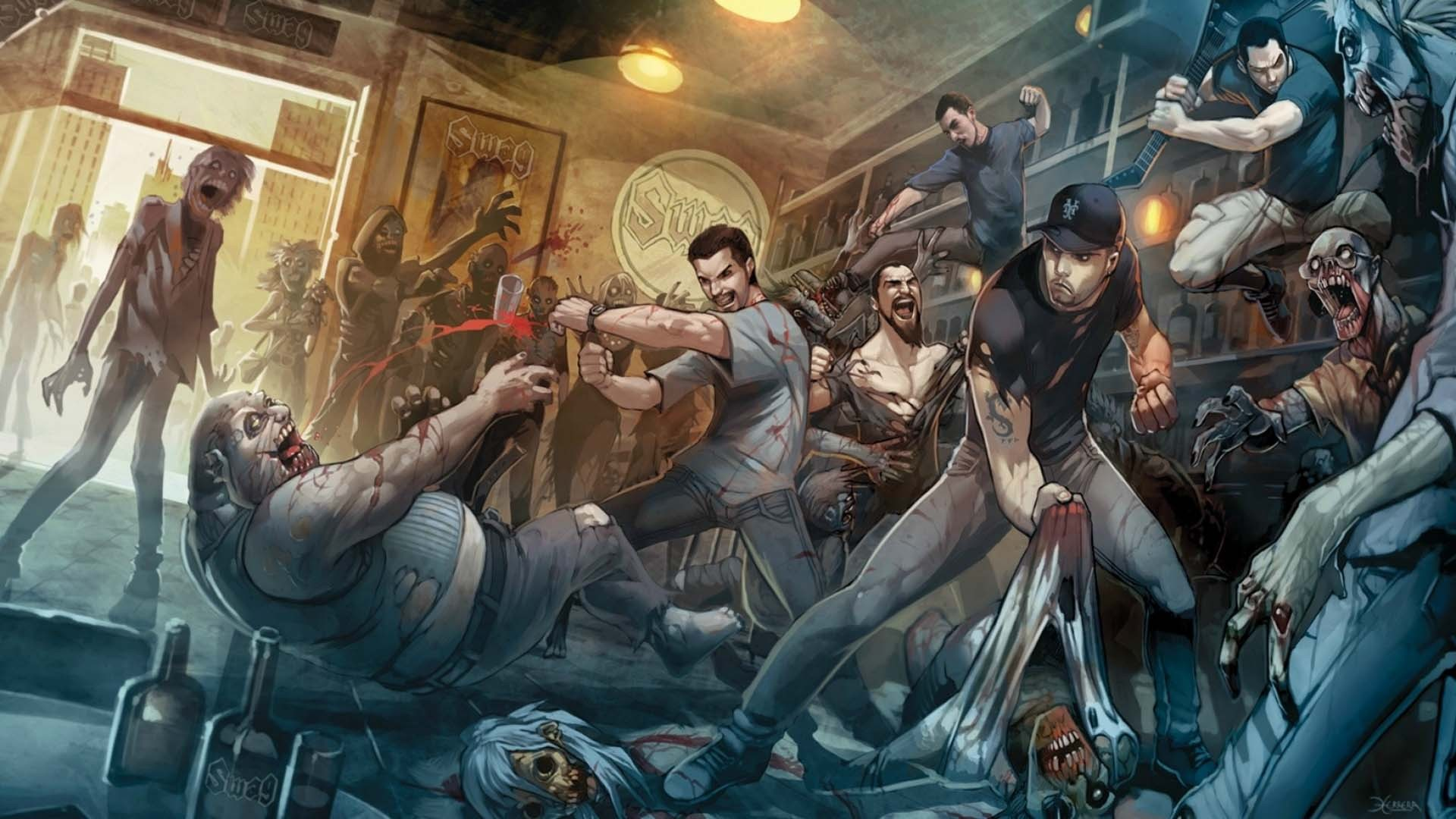 nice zombie wallpaper artwork zombies and more zombies 1920x1080