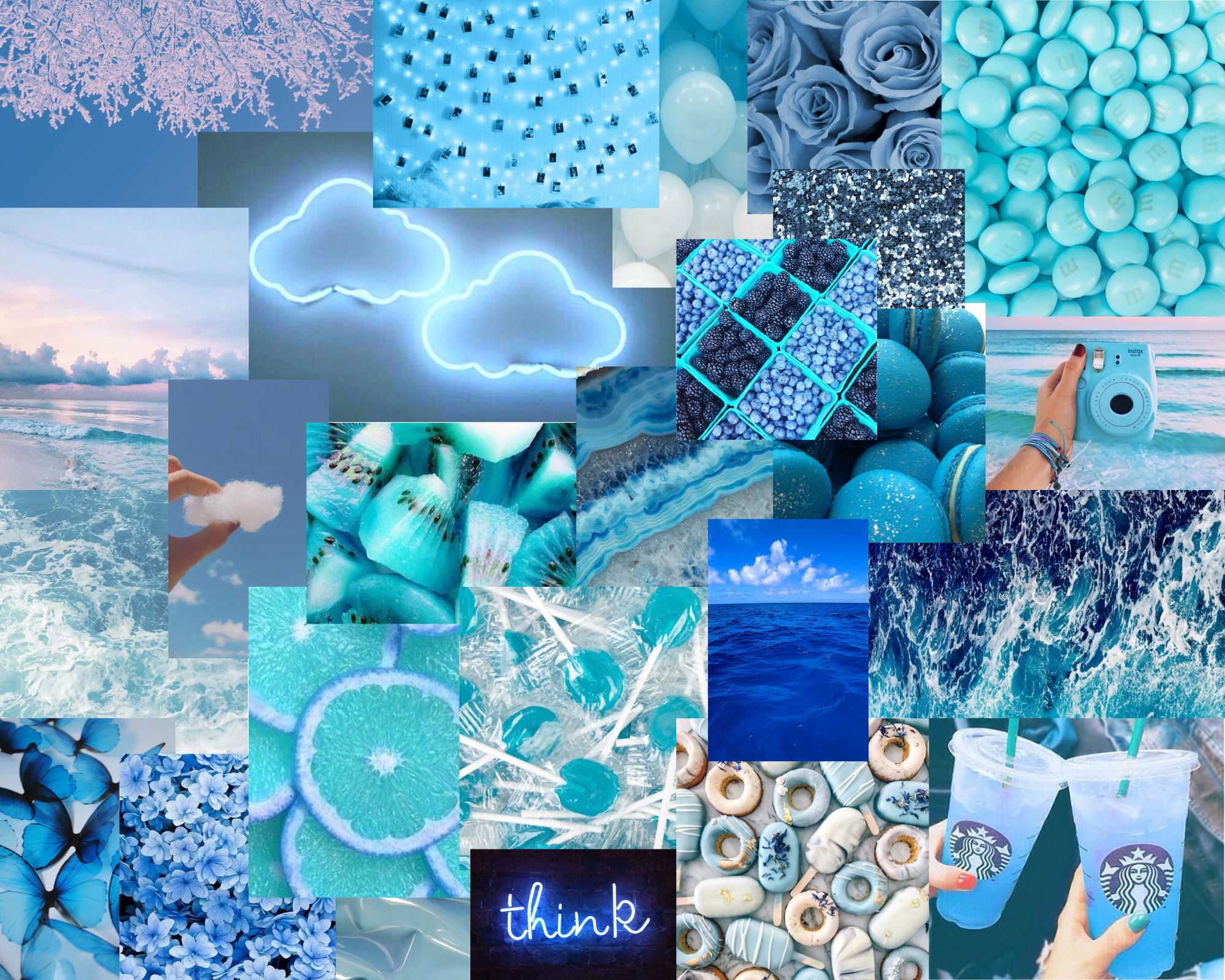 Blue athestic Baby blue aesthetic Aesthetic iphone wallpaper 2000x1600