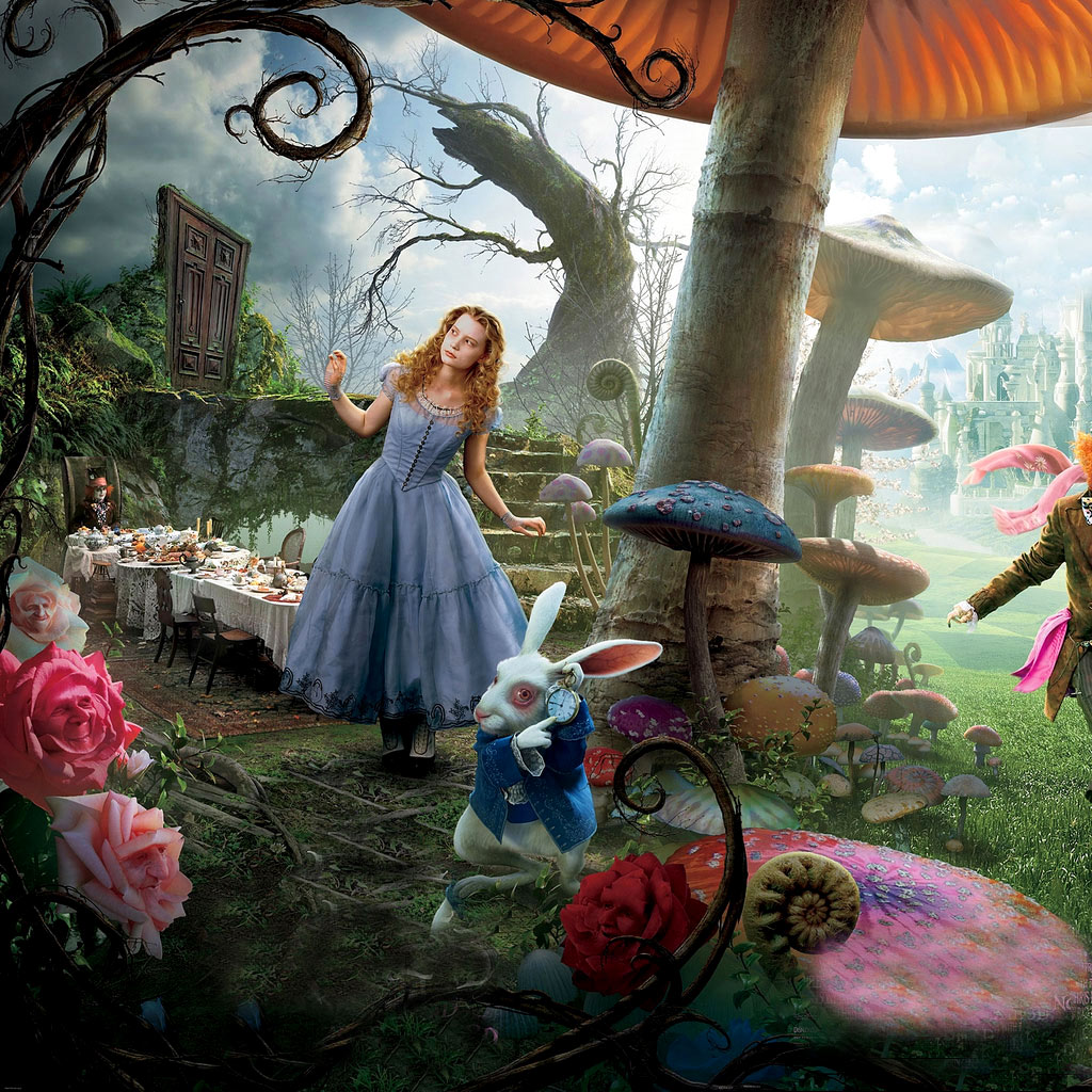 Alice In Wonderland 1951 Fanpop: Alice In Wonderland Wallpaper