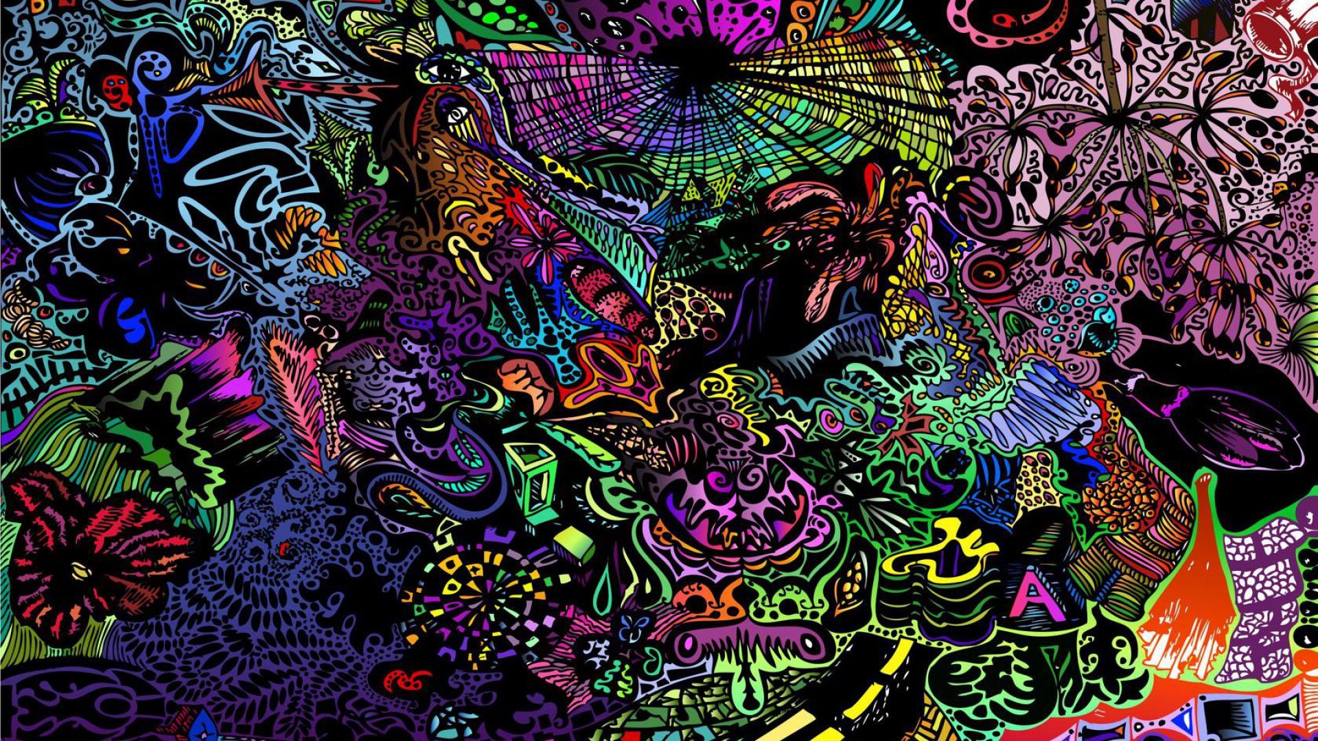 Trippy Background Deskop 1920x1080