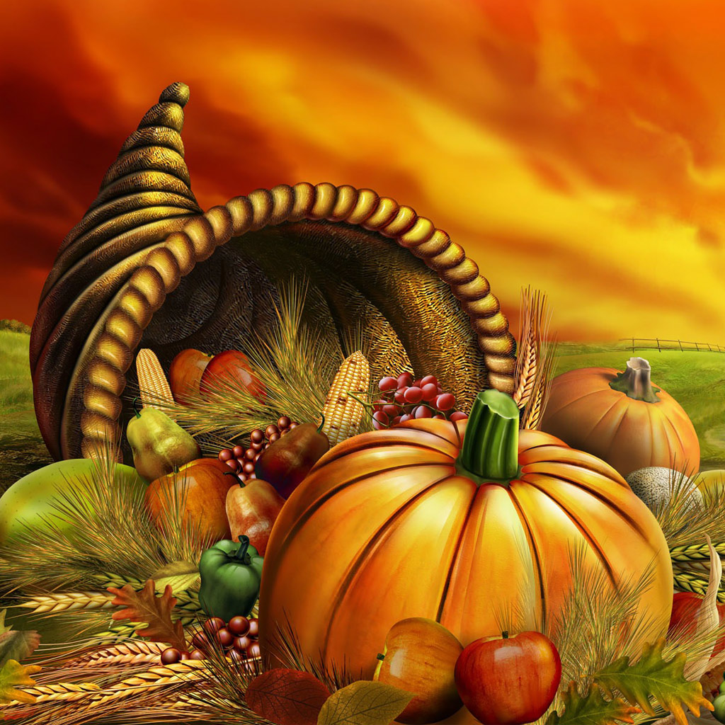 Thanksgiving Wallpapers 1024x1024