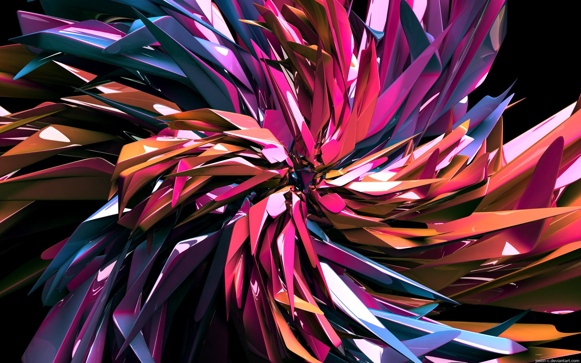 bite abstract wallpaper 1920x1200