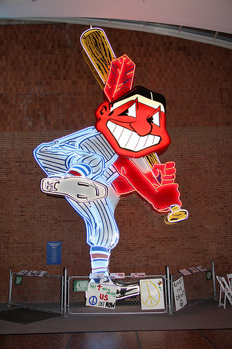 Chief Wahoo Sign http://www.flickr.com/photos/thomsheridan/6784073995/