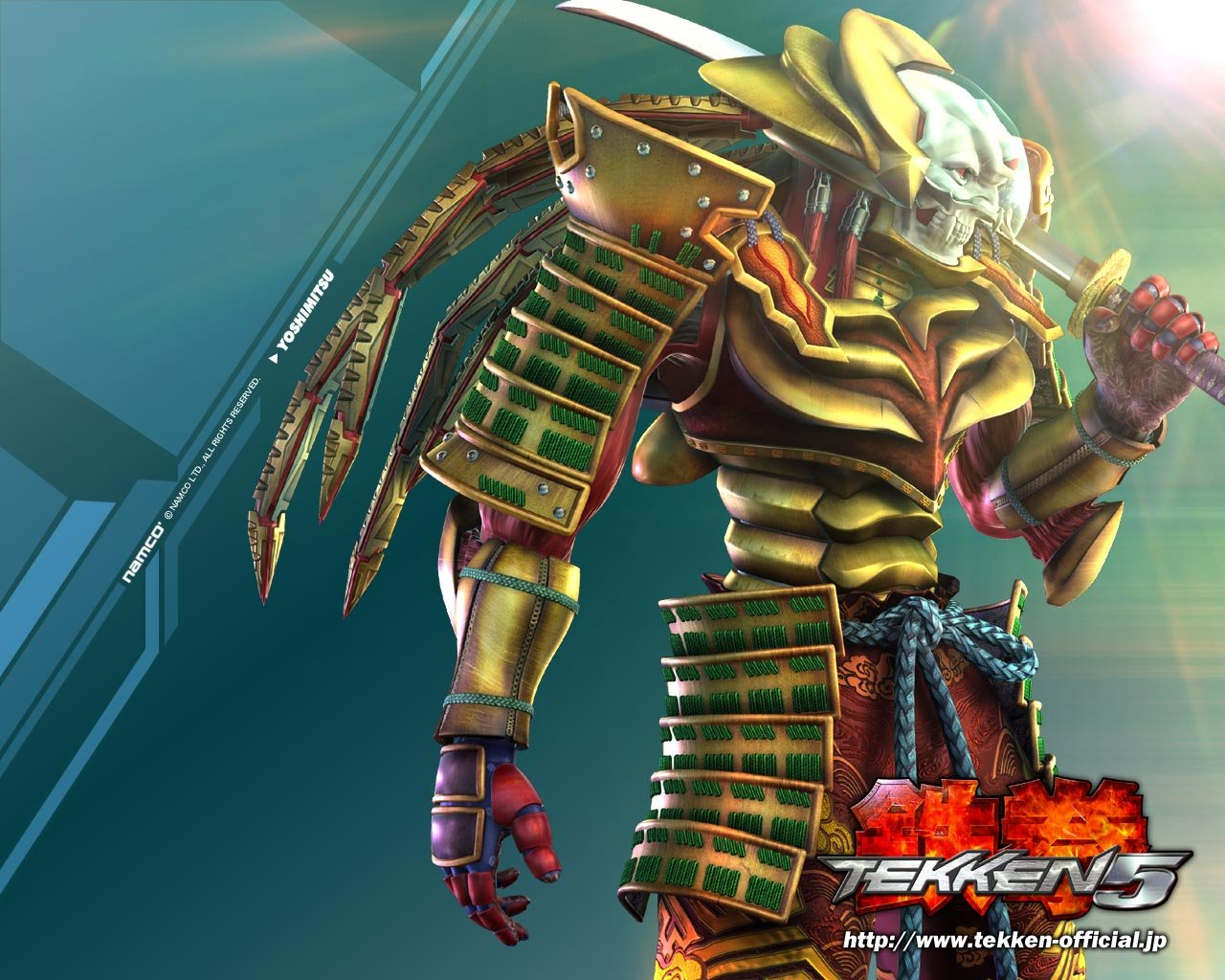 Yoshimitsu Tekken 6 Wallpaper Tekken 6 Yoshimitsu Wa...