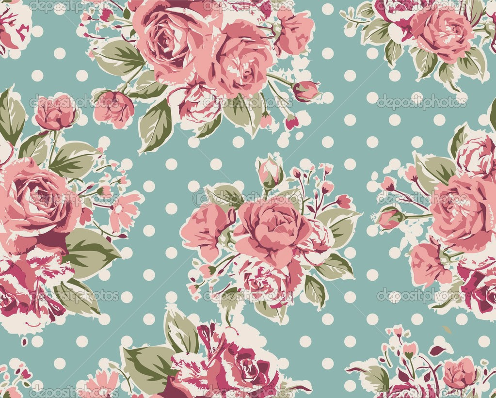 Vintage flower wallpaper 1023x821