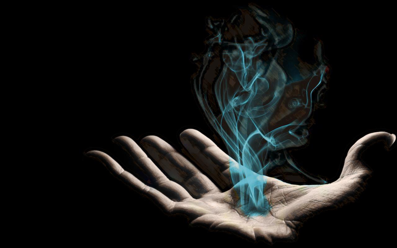 magic palm smoke HD Wallpaper   Art Fantasy 147863 1280x800