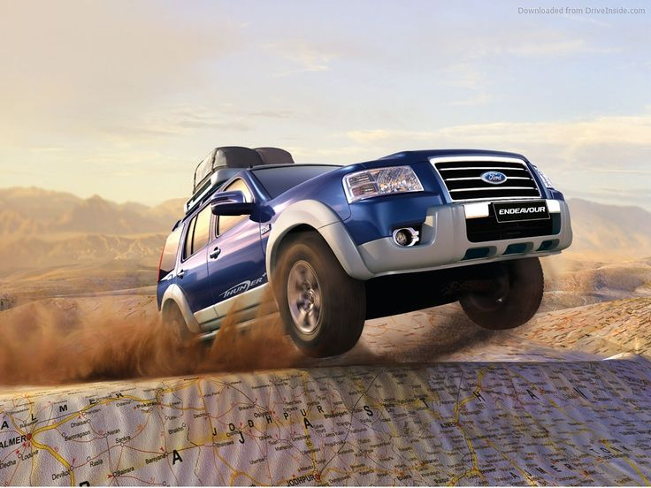 Ford Endeavour HD Wallpaper Places to Visit Pinterest 736x552
