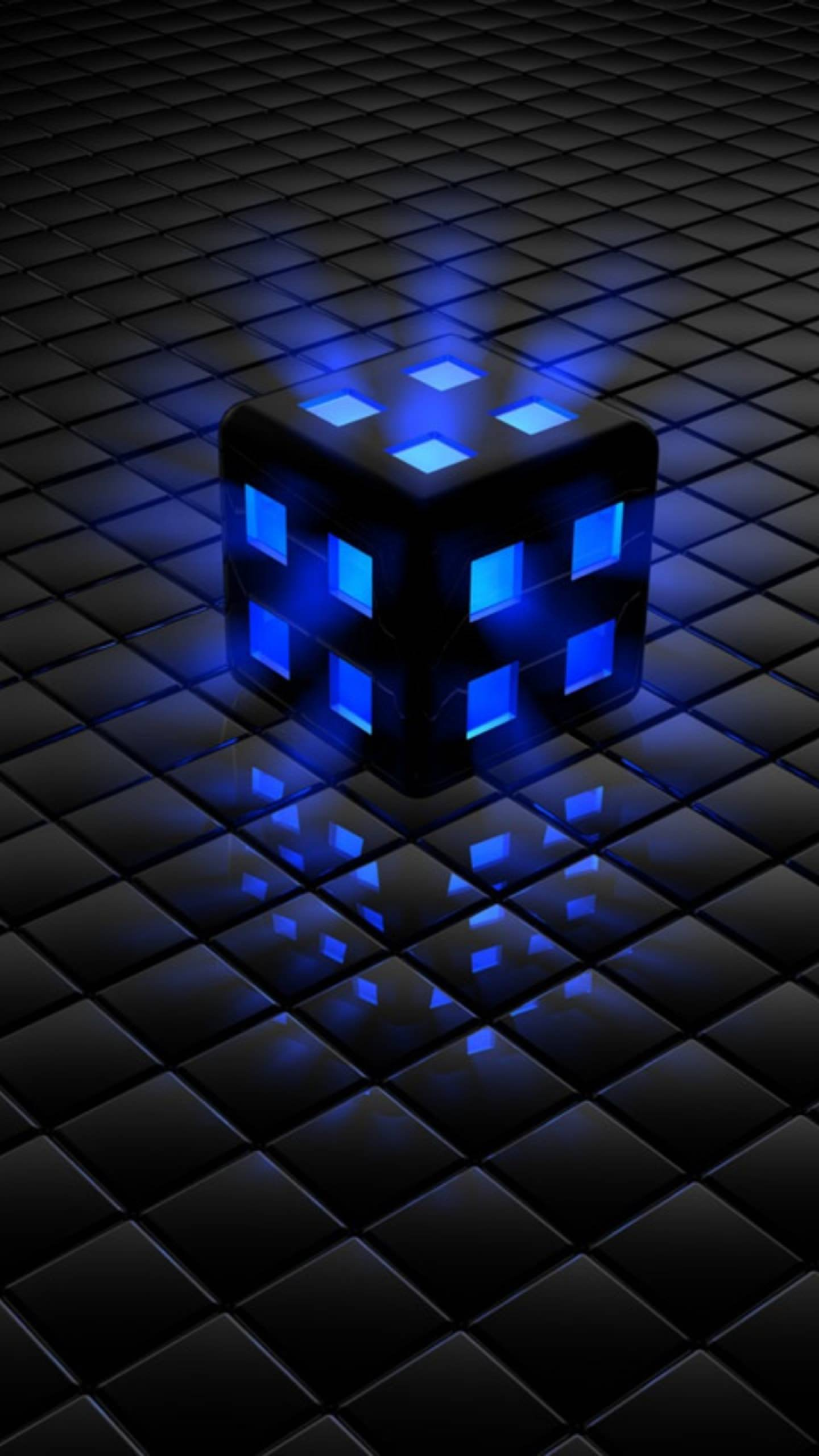 Black Blue Cool wallpapersc SmartPhone 1440x2560