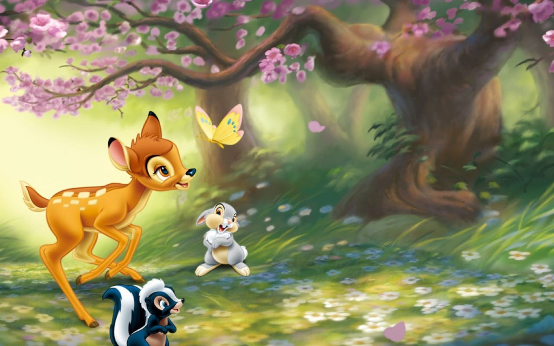 Little Bambi desktop wallpaper 1920x1200