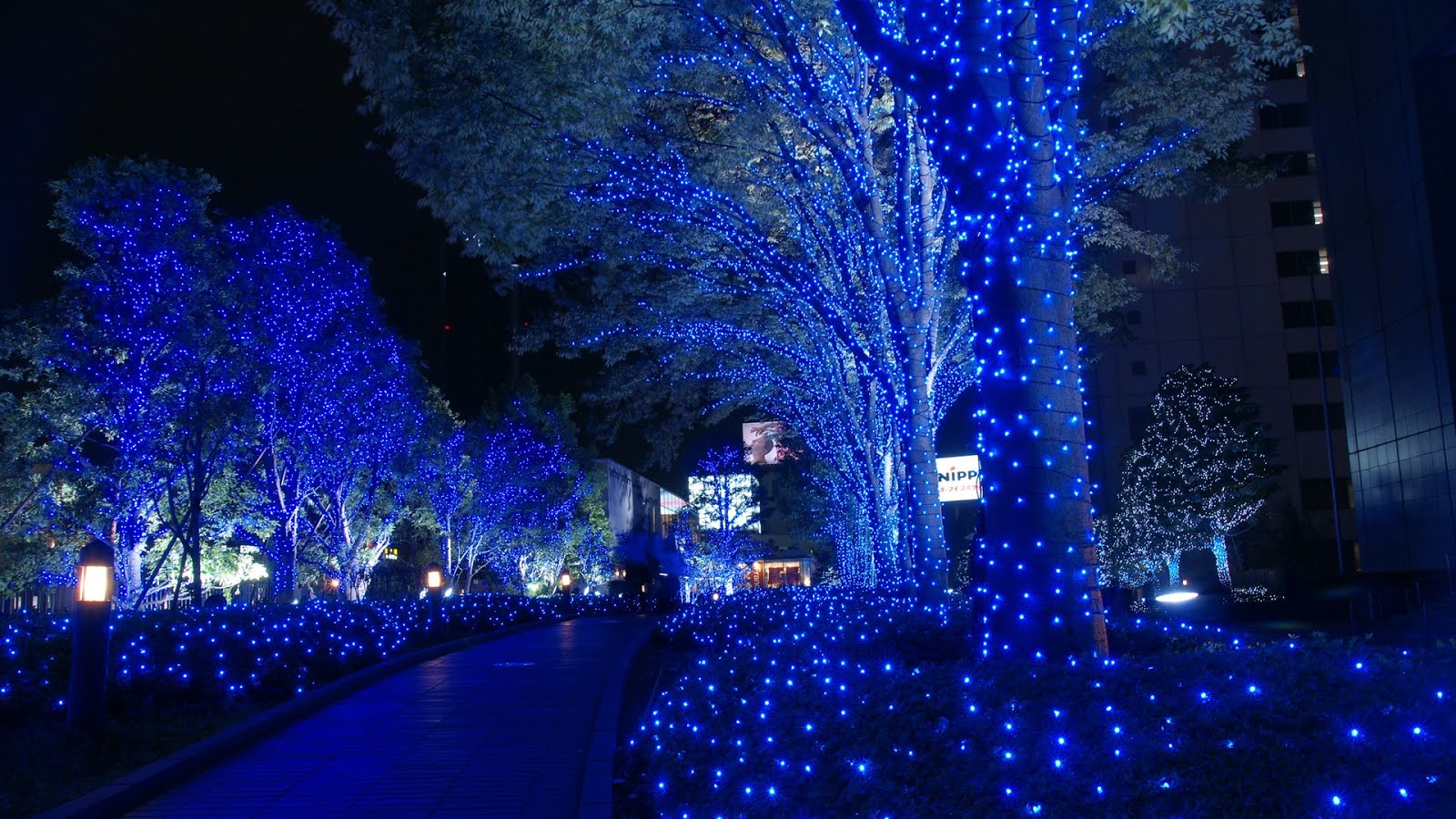 Free Wallpapers 1920x1080 HDTV: Christmas in Tokyo