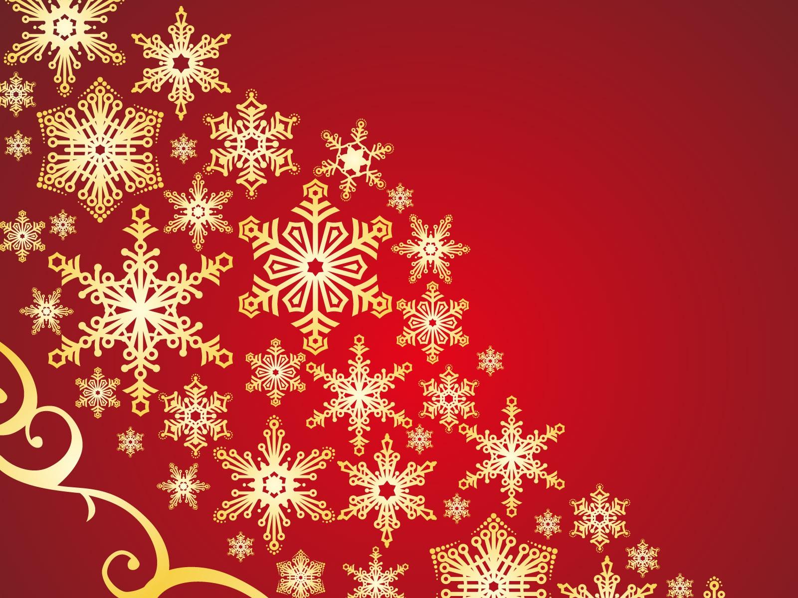 Holiday Snowflakes Pattern desktop wallpaper 1600x1200