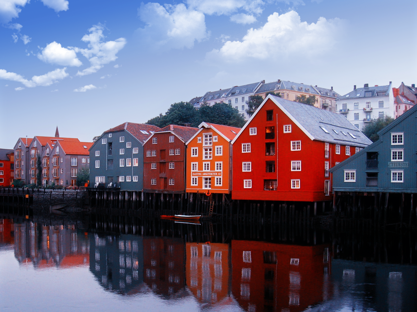 colorful norway houses wallpaper the stench of conservative hubris 1600x1200