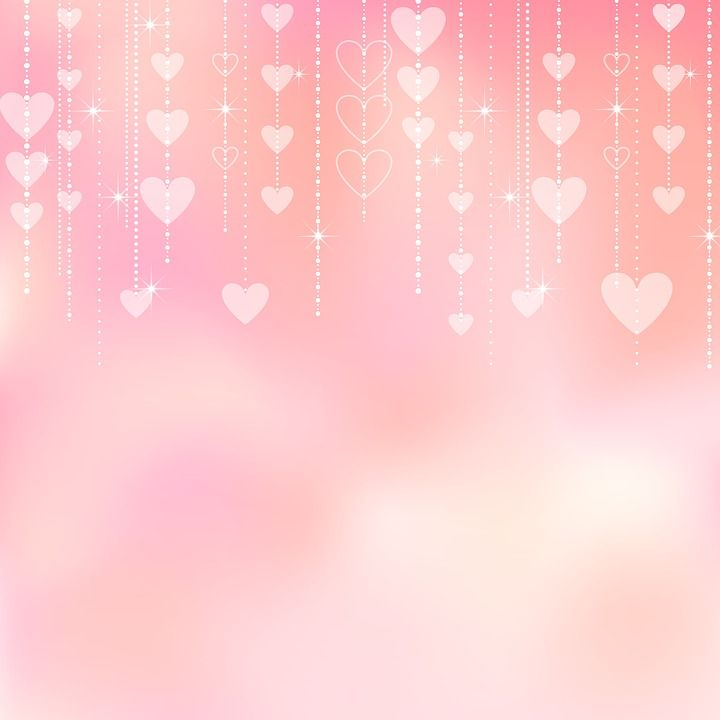 Image on Pixabay   Valentine Background Bokeh Hearts 720x720