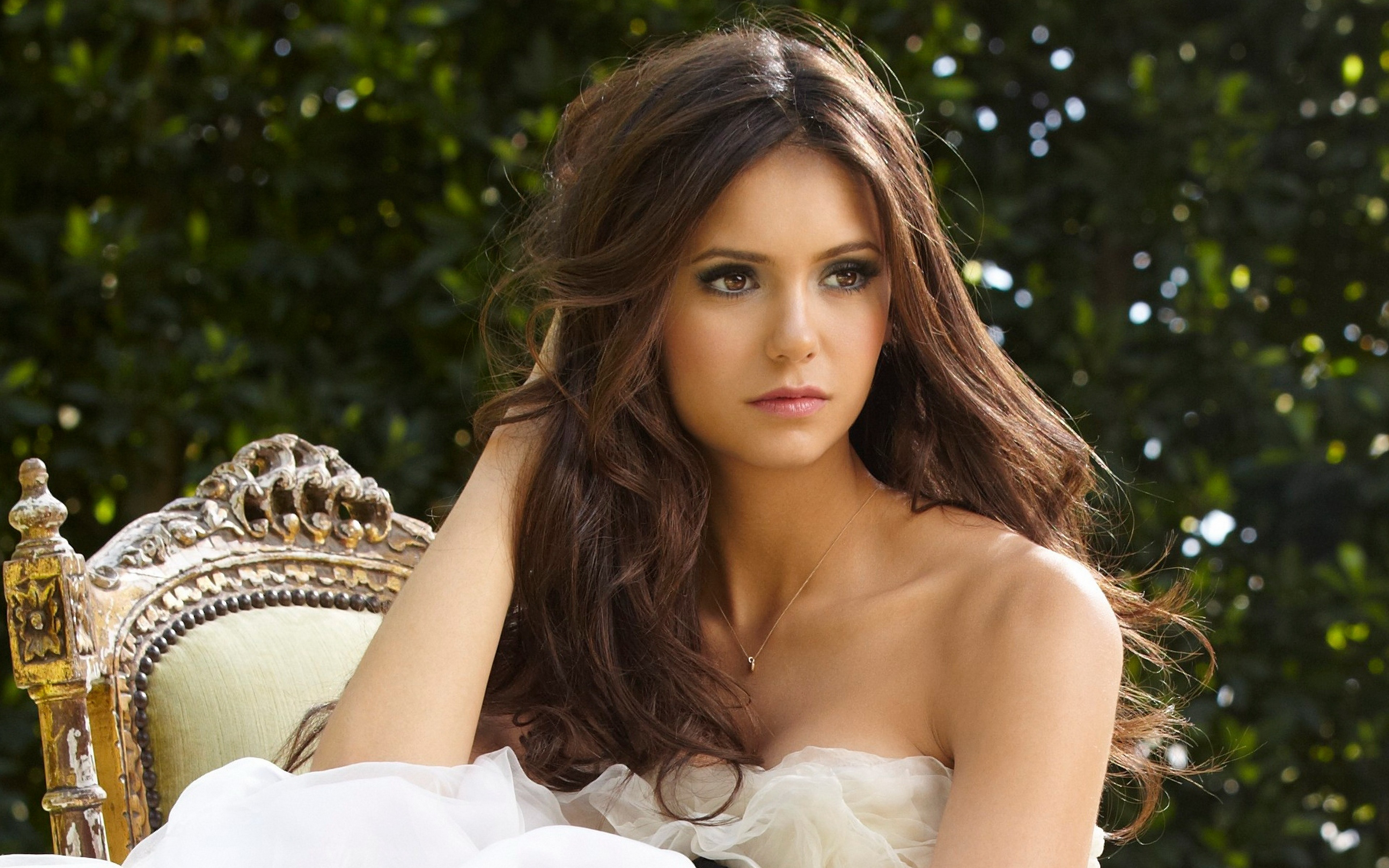 download Nina Dobrev 4k Ultra HD Wallpaper and Background 3840x2400
