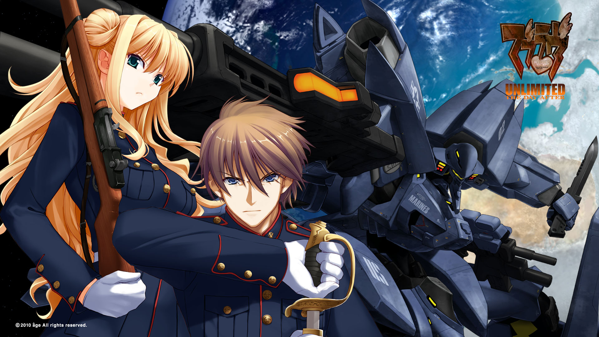 Muv Luv Alternative Chronicles HD Wallpaper 244023   Zerochan 1920x1080