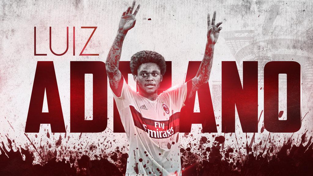 Luiz Adriano 20152016 Wallpaper AC Milan by RakaGFX 1024x576