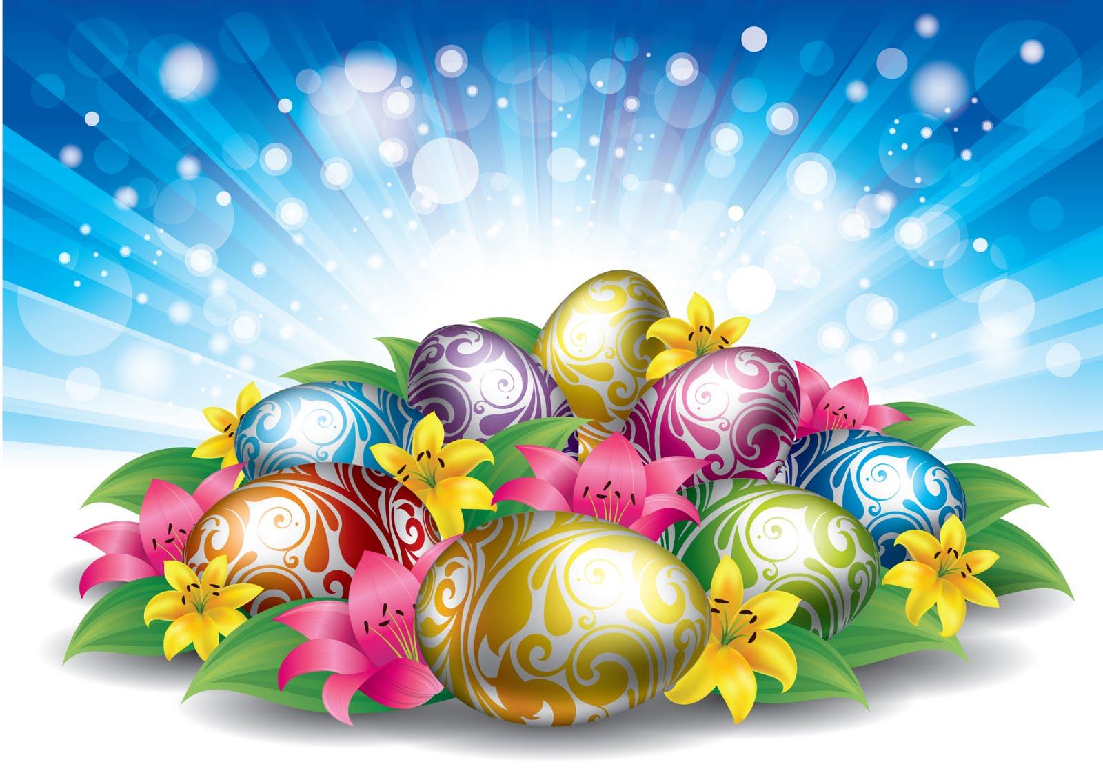 Easter Eggs Wallpaper 1600x1131
