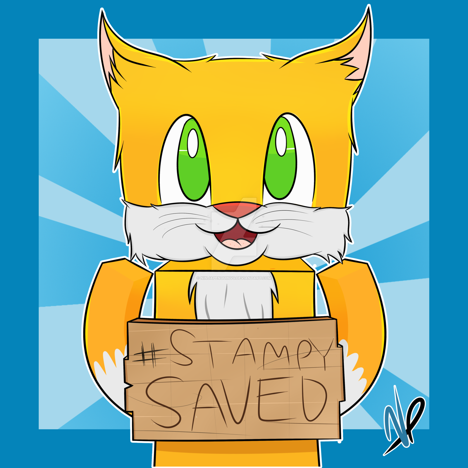 Minecraft Stampy Drawings at PaintingValleycom Explore 1600x1600