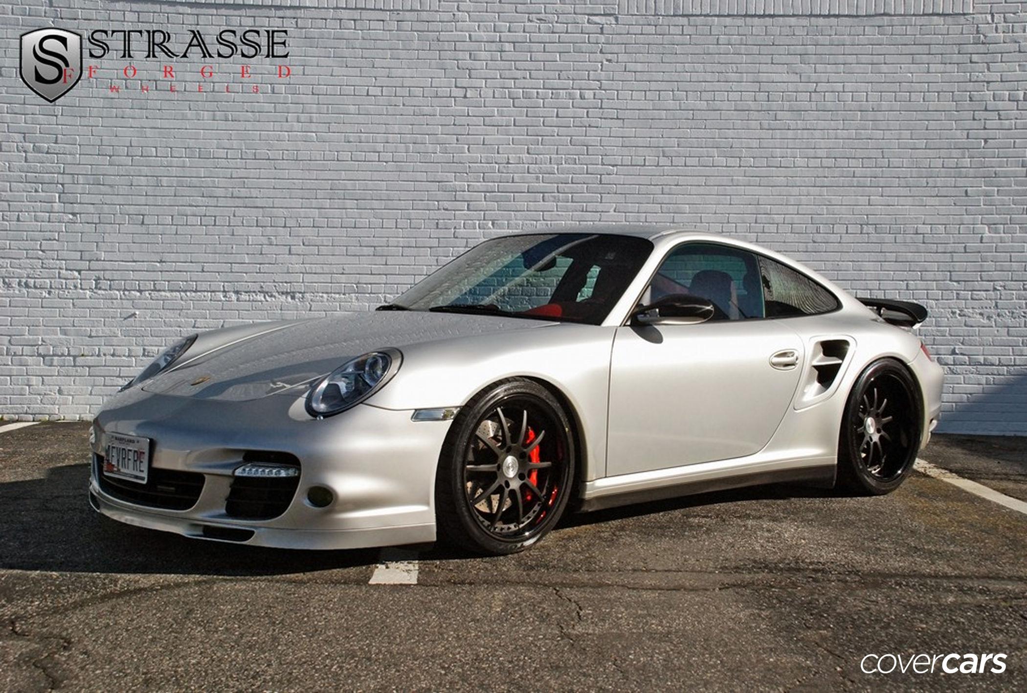 2011 silver Porsche 911 Turbo wallpapers 2100x1417