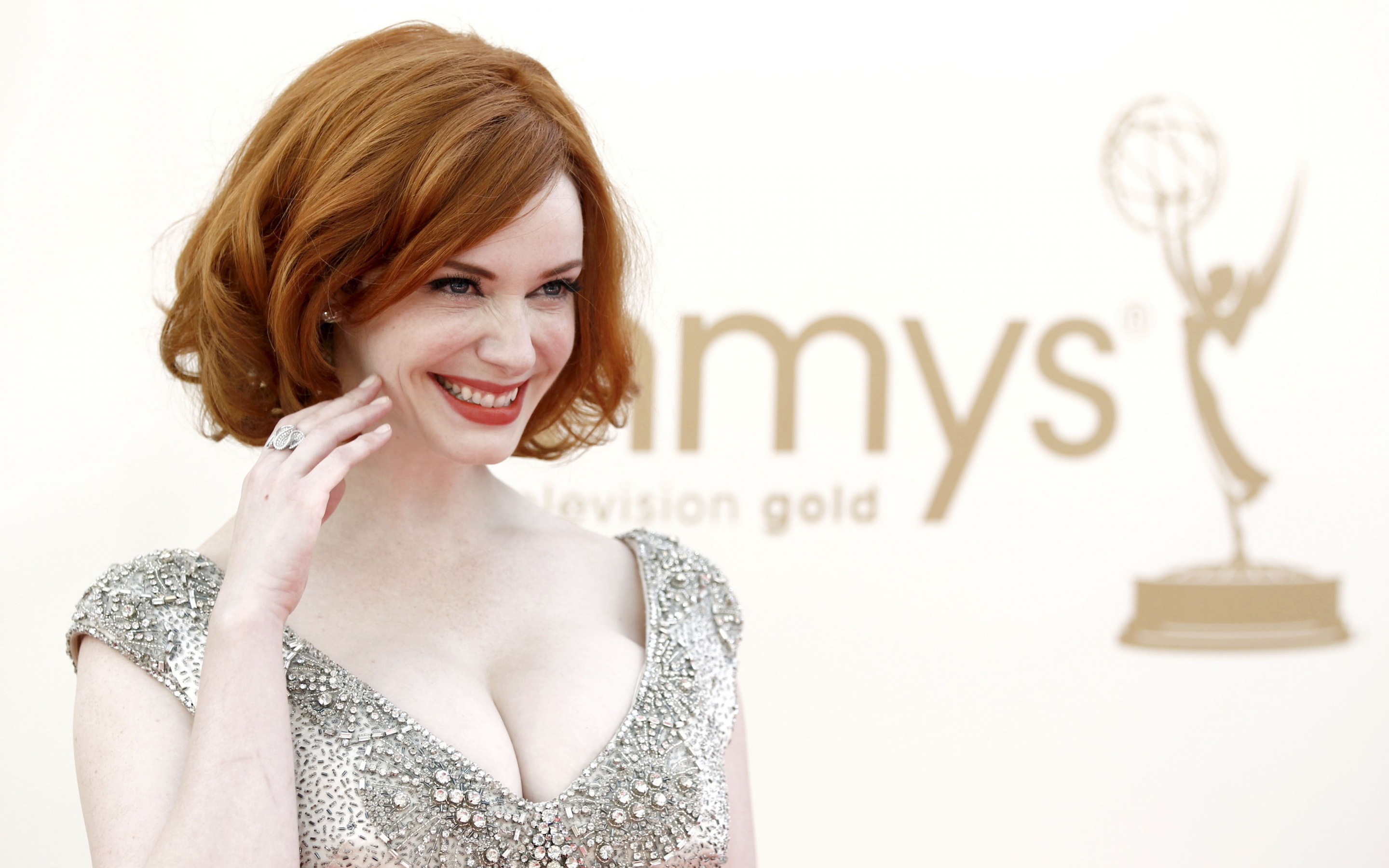 14863 Christina Hendricks Widescreen Wallpaper 28801800 2880x1800