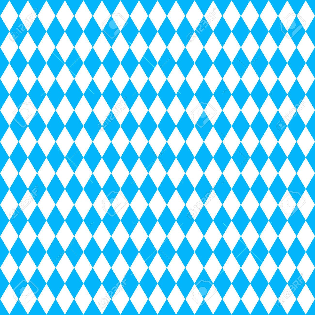 Oktoberfest Background With Blue Rhombus Royalty Cliparts 1300x1300