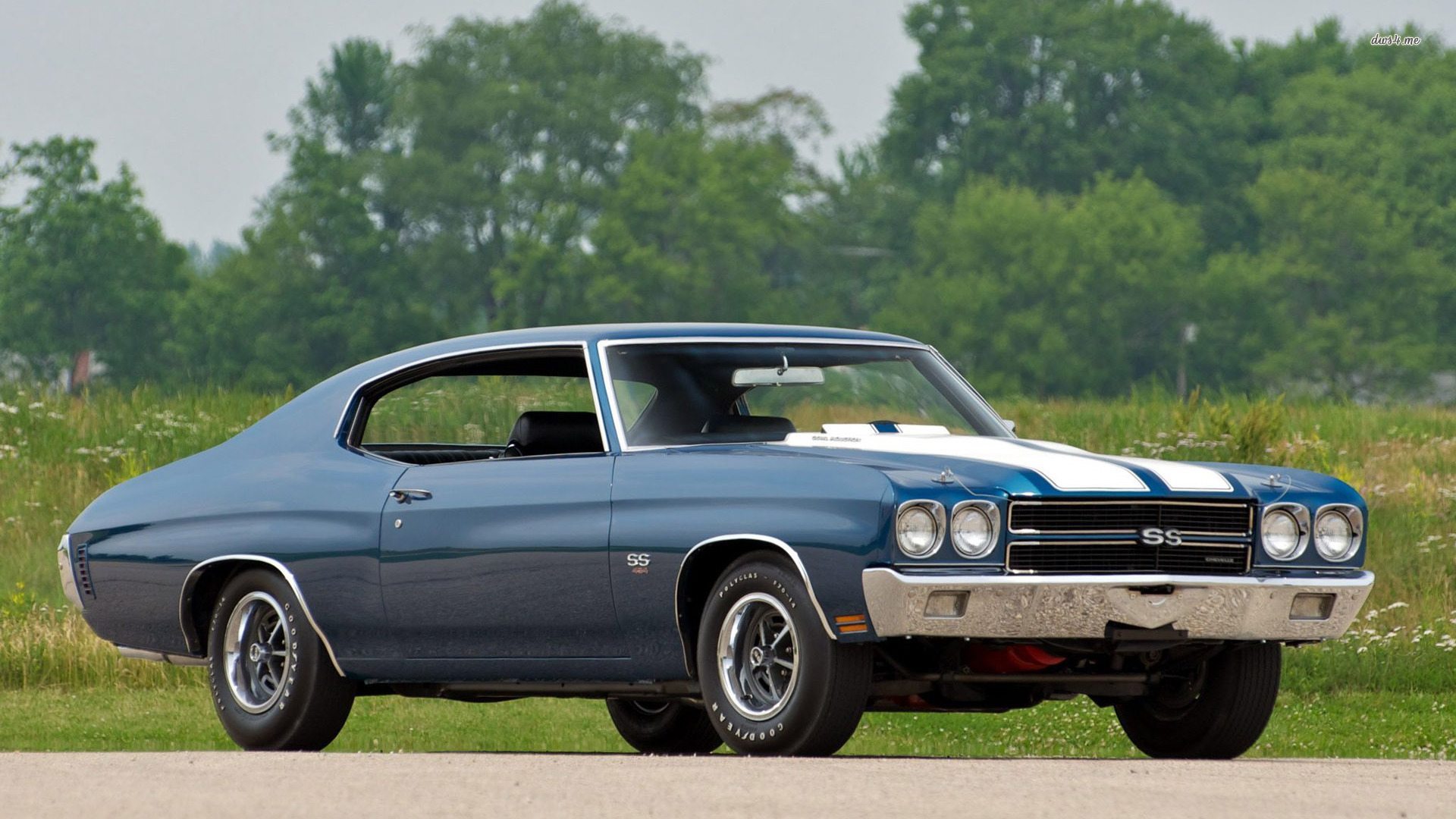 1970 chevy chevelle ss chevrolet hd wallpaper cars muscle cars vintage 1920x1080