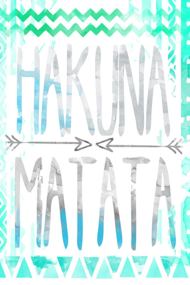 Hakuna Matata wallpaper iPhone backgrounds D Pinterest 640x960