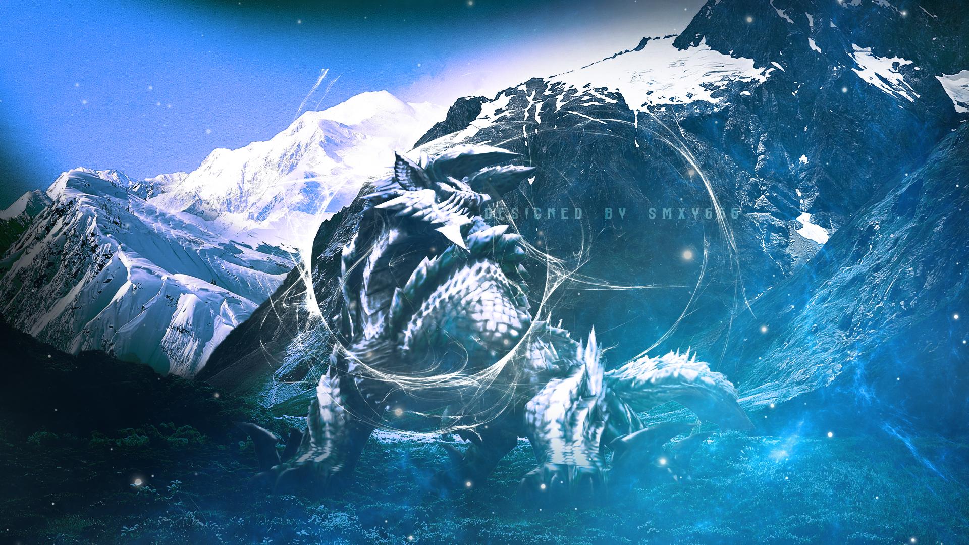 Free Download Wallpaper Monster Jinorga Hunter High Art 1920x1080