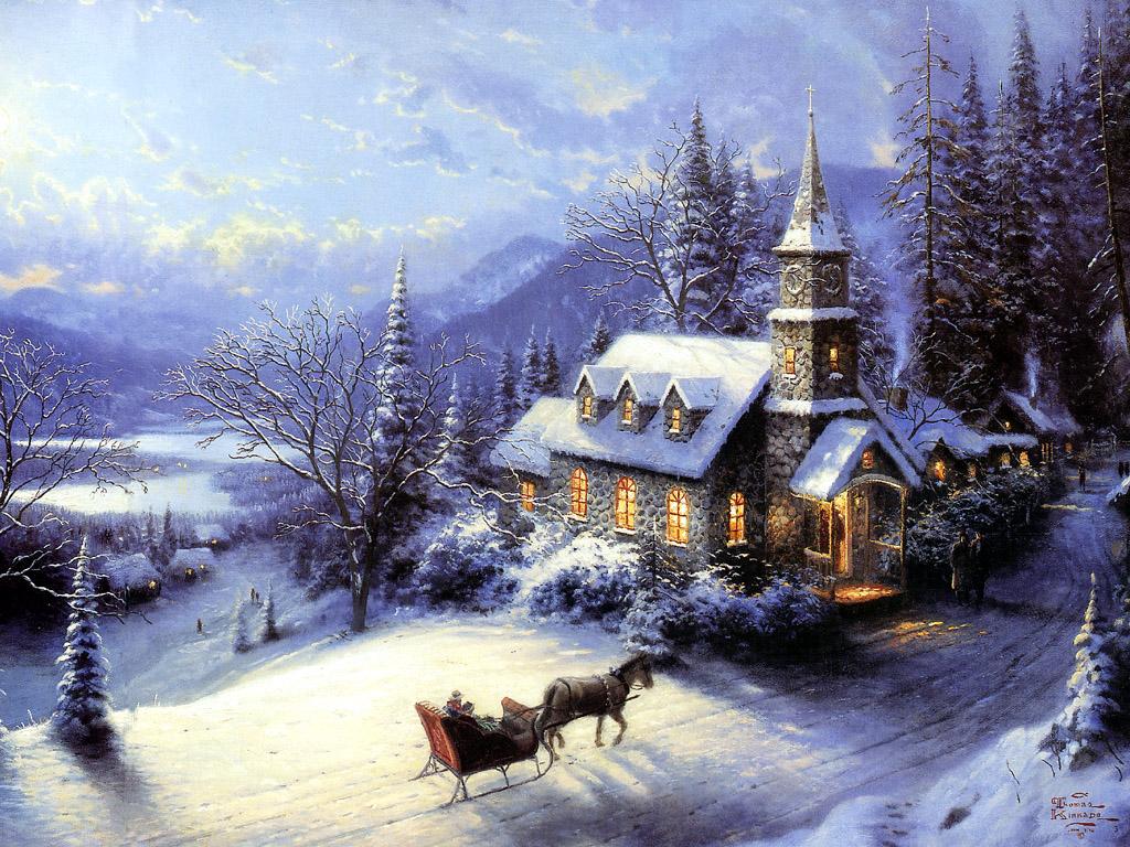 christmas desktop cute wallpapers desktop backgrounds christmas snow 1024x768