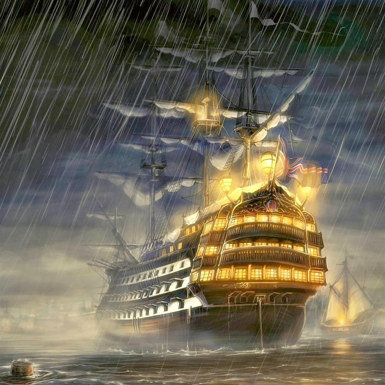 Pirates Of The Caribbean Wallpaper Hd: Pirate Ship Wallpaper HD