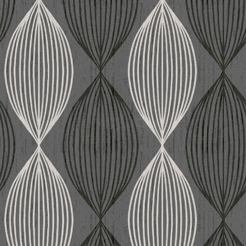 Orbit Grey Black White Contemporary Wallpaper GoWallpaper 800x800