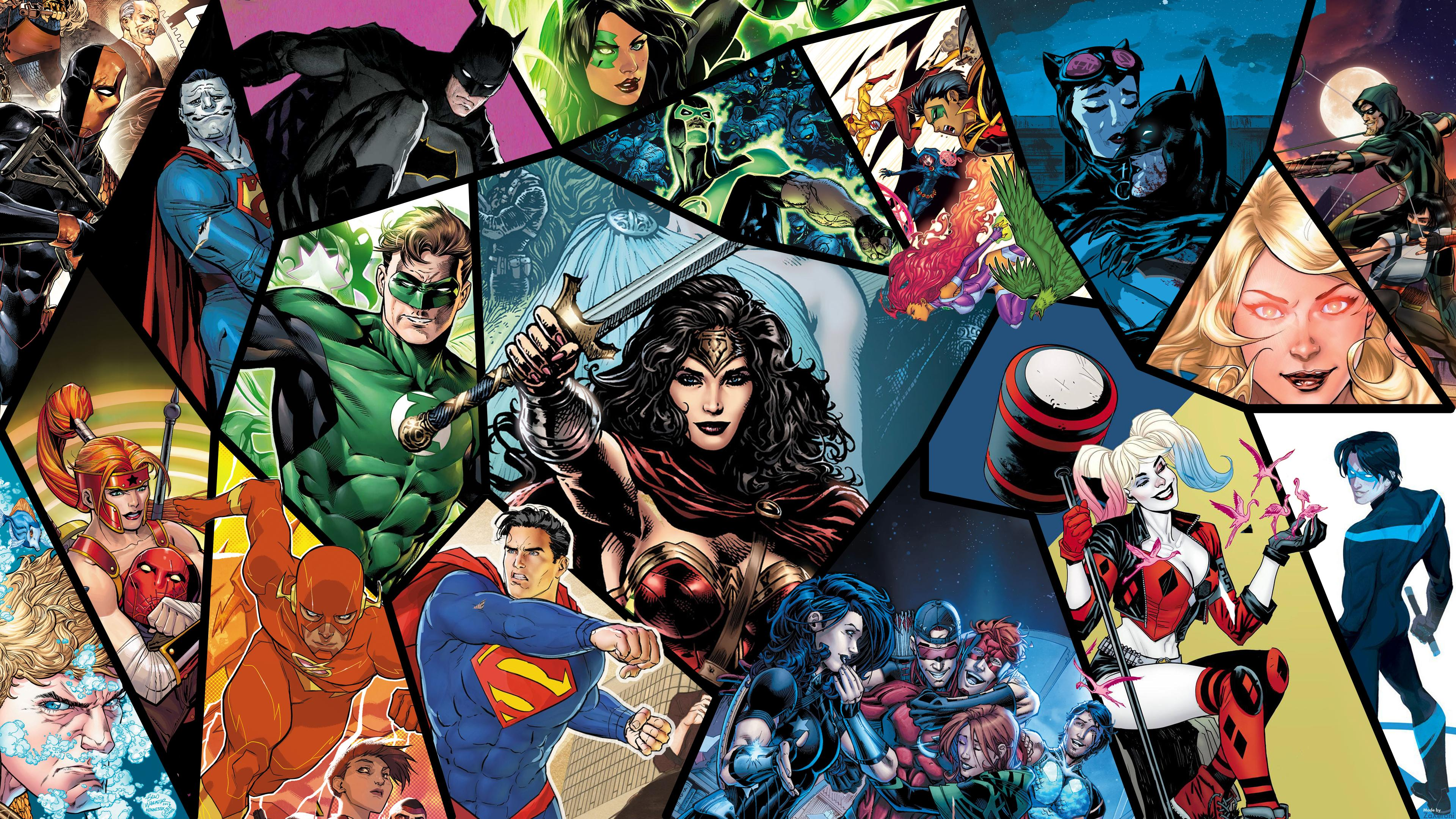 DC Rebirth Wallpaper 3840x2160 DCcomics 3840x2160