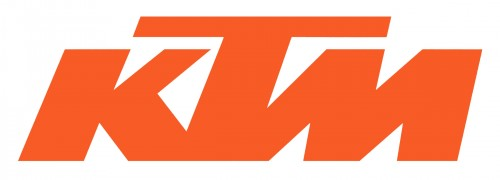 ktm logo wallpaper 500x180