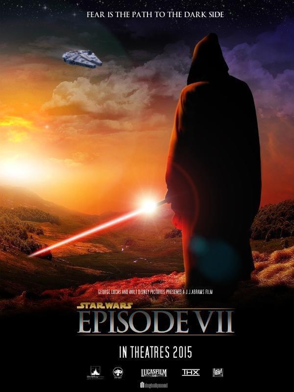 Episode VII star wars episode vii 7 movie poster wallpaper image 08 600x800