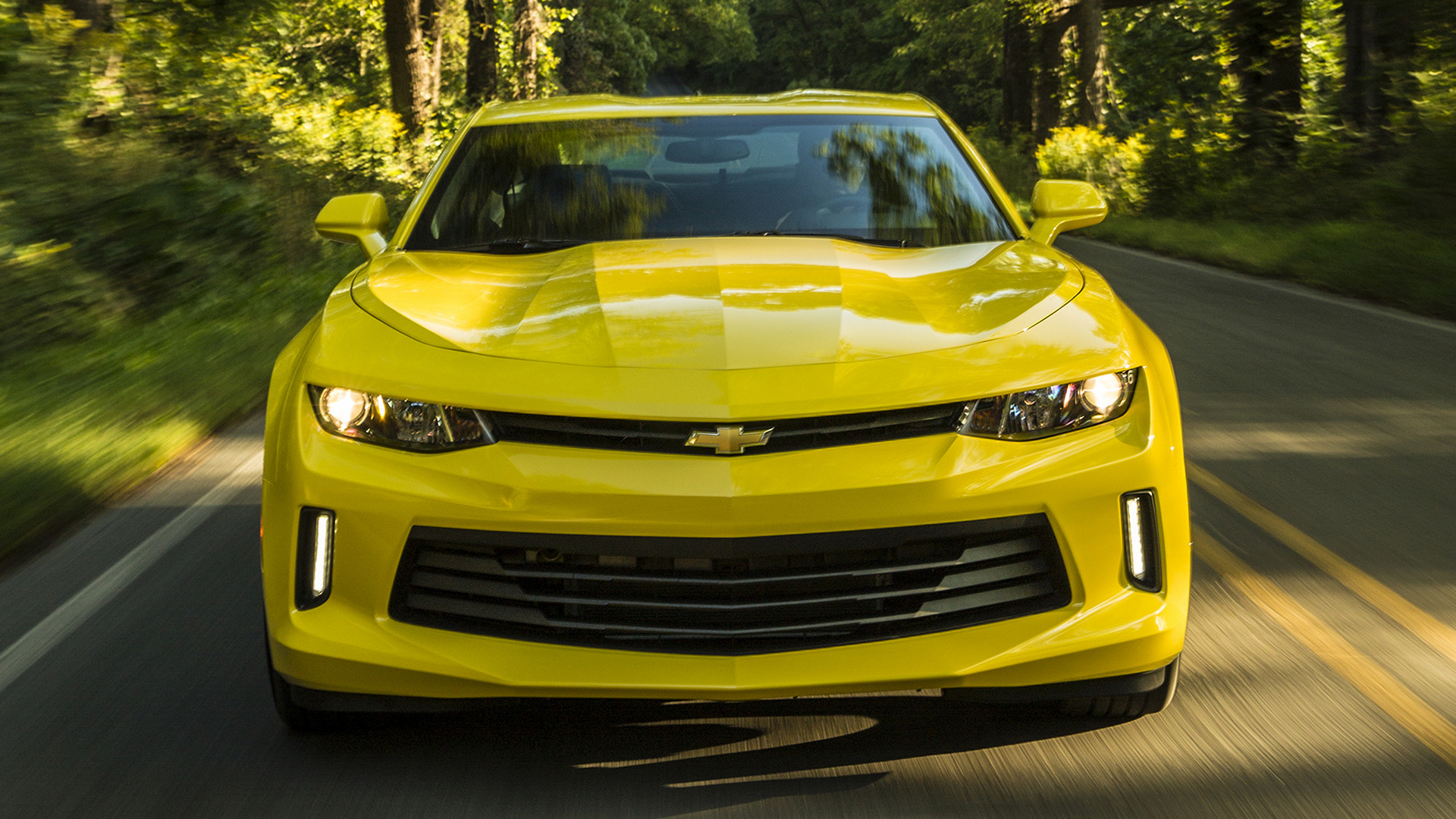 Chevrolet Camaro 2016 Wallpapers and HD Images 1920x1080