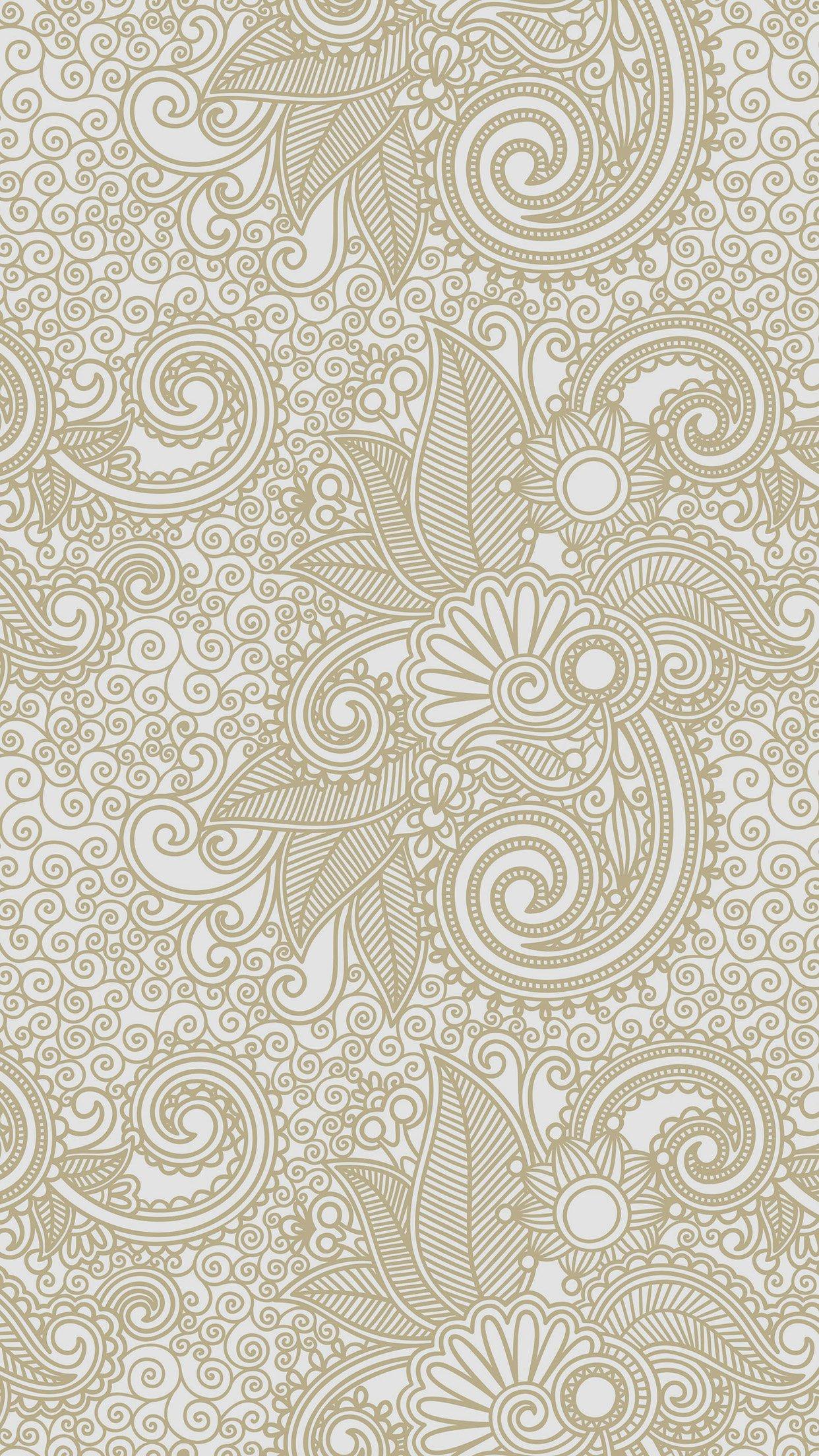 wallpaper design flower line pattern 34 iphone6 plus wallpaperjpg 1242x2208