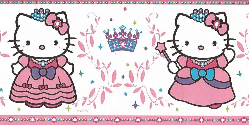 Hello Kitty Wallpaper Border - WallpaperSafari