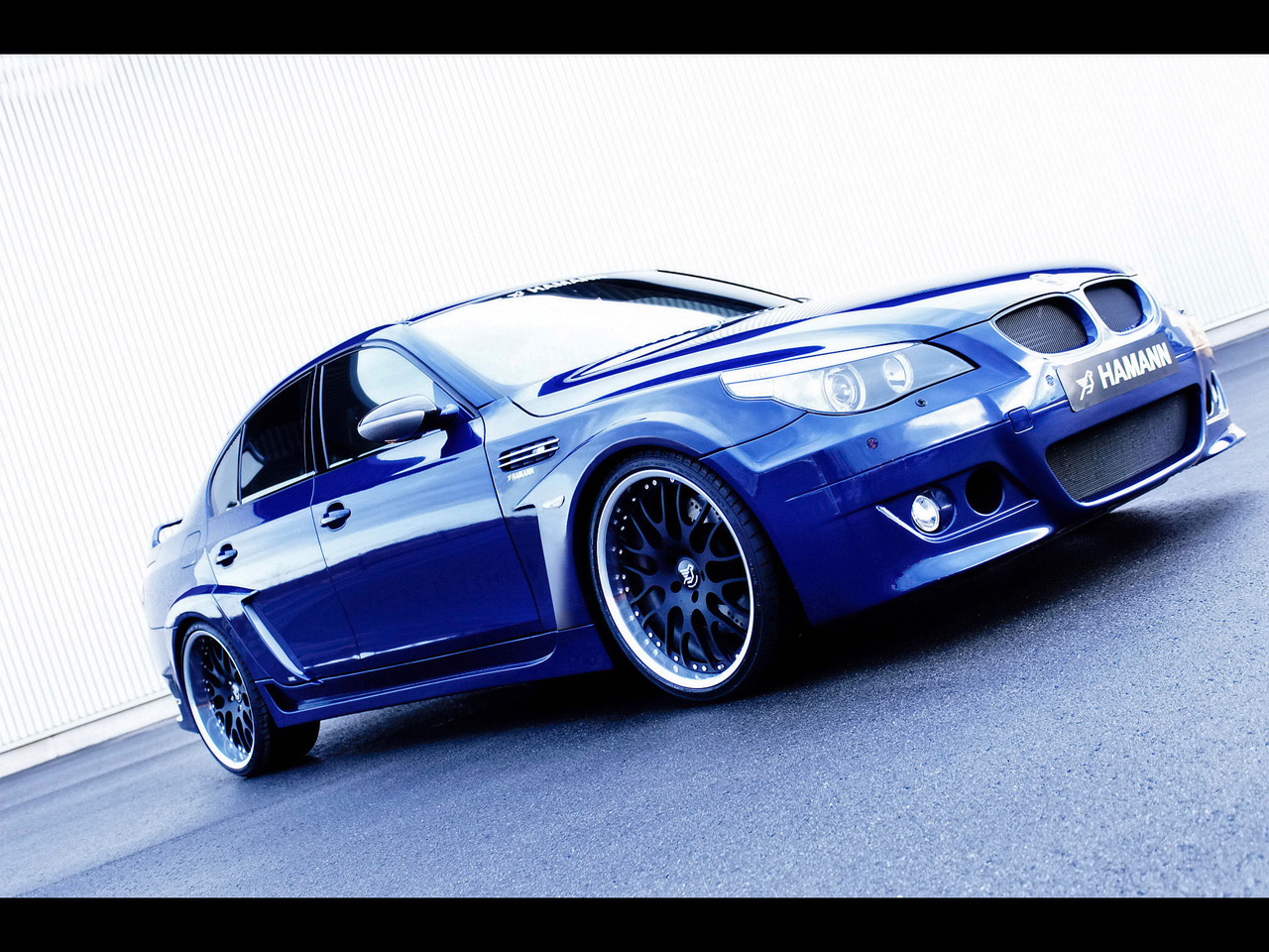 2006 Hamann BMW M5 Edition Race Blue Front Right 2 1280x960 Wallpaper 1280x960