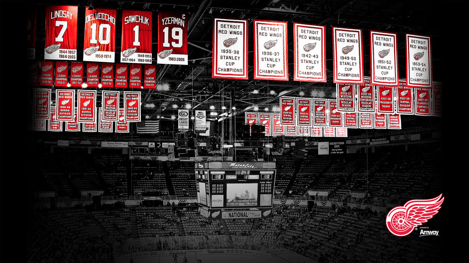 Detroit Red Wings wallpapers Detroit Red Wings background   Page 7 1600x900