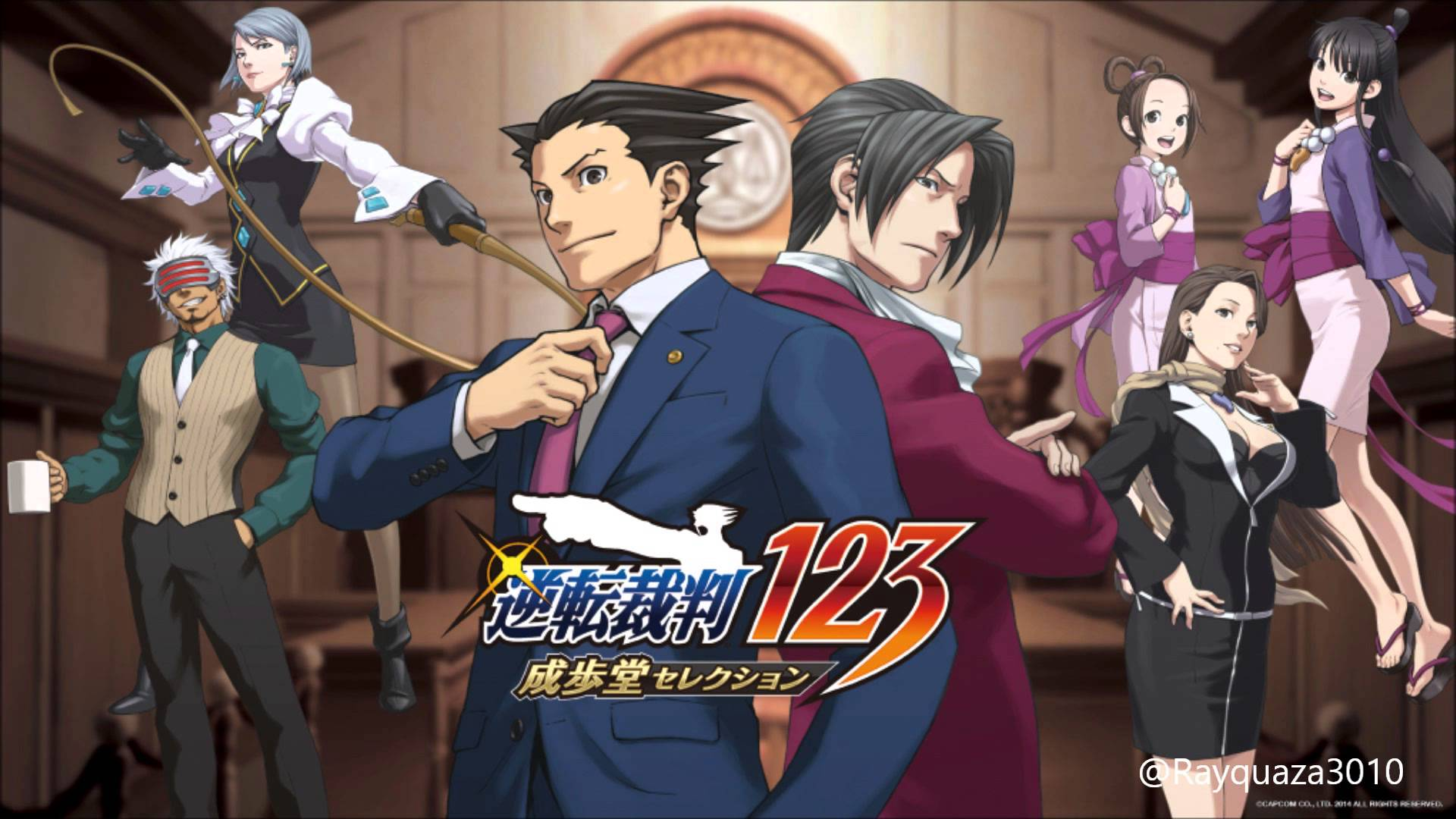 Free Download Phoenix Wright Ace Attorney Hd Wallpaper 10 1920 X