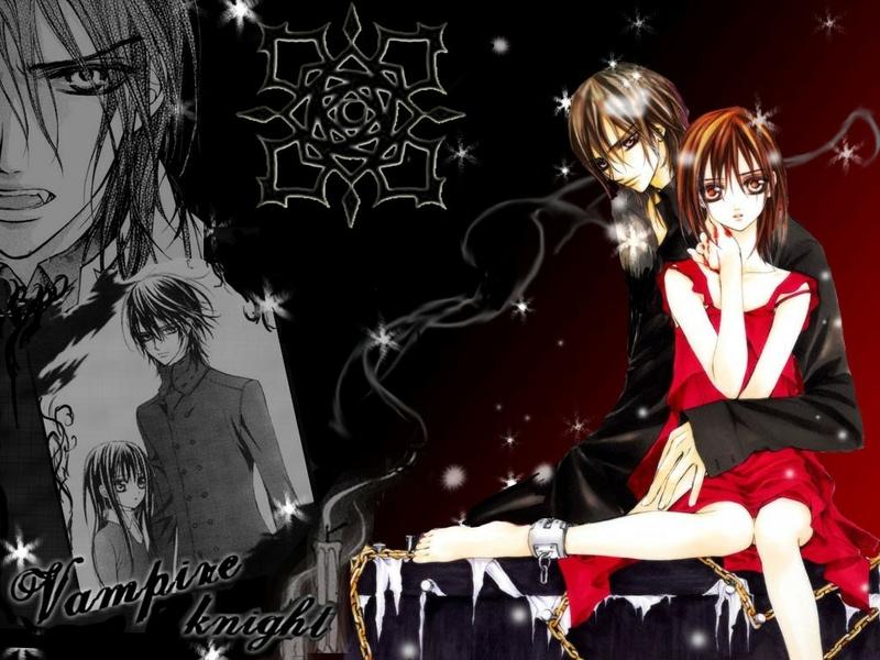 Vampire anime wallpaper wallpapersafari - Vampire knight anime wallpaper ...