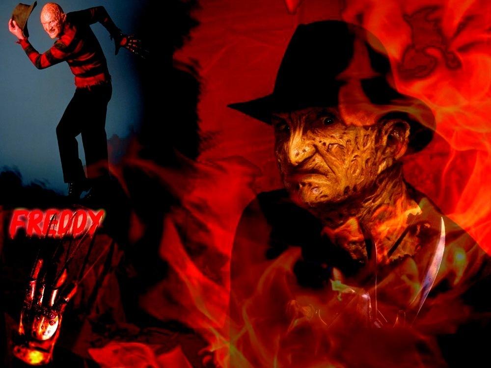 Naruto Trio And Freddy Krueger 1000x750