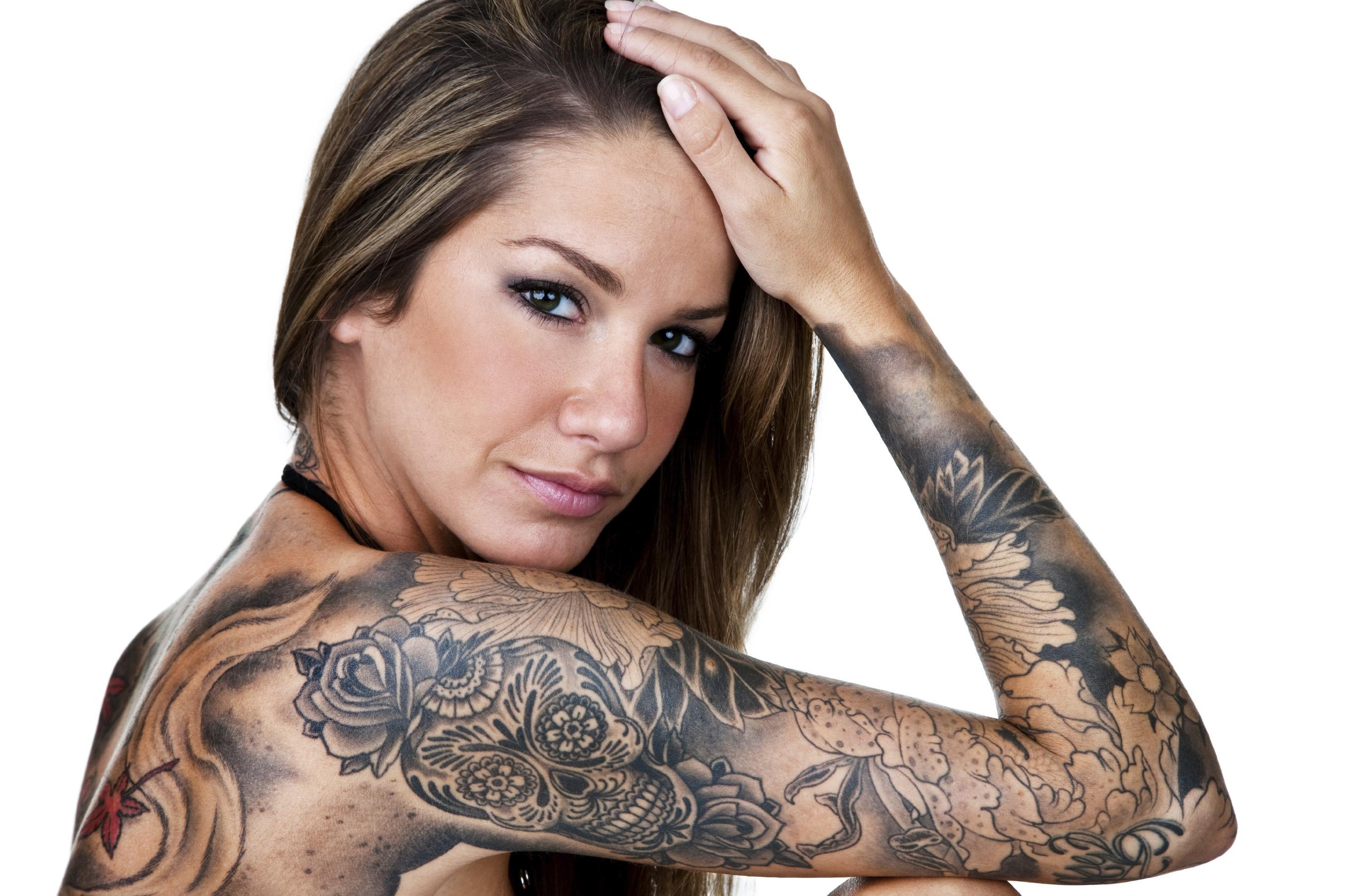 Girl Beautiful Tattoos Inked Tattoo Ink Woman   Hot Girls Wallpaper 2716x1810